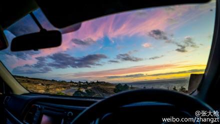 车窗外的风景