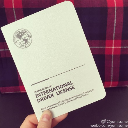 驾照国际翻译认证件