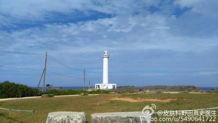 沖縄残波岬灯塔