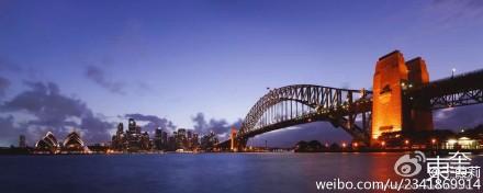 澳洲的美丽夜景